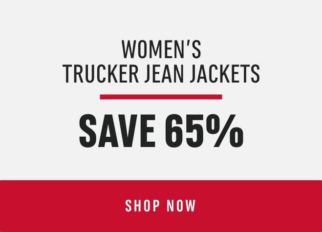 Women's Trucker Jean Jackets: Save 65%