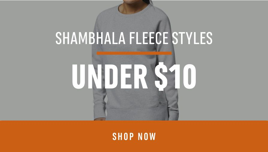 Shambhala Fleece Styles under $10