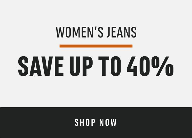 Women's Jeans : save up to 40%