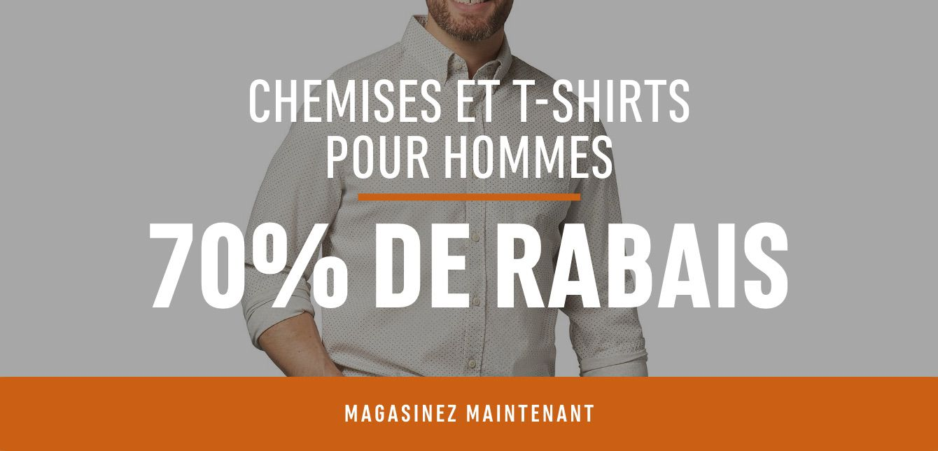Men's Shirts & T-Shirts: Save 70%