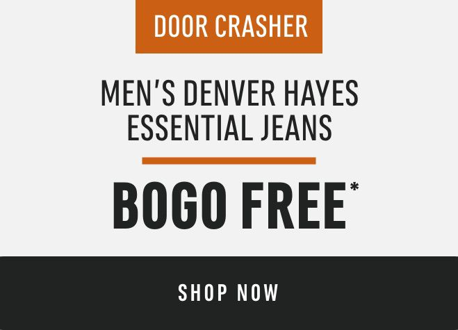 Men's Denver Hayes Essential Jeans: BOGO FREE*