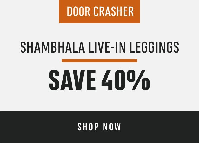 DOORCRASHER: Shambhala Live-In Leggings: Save 40%