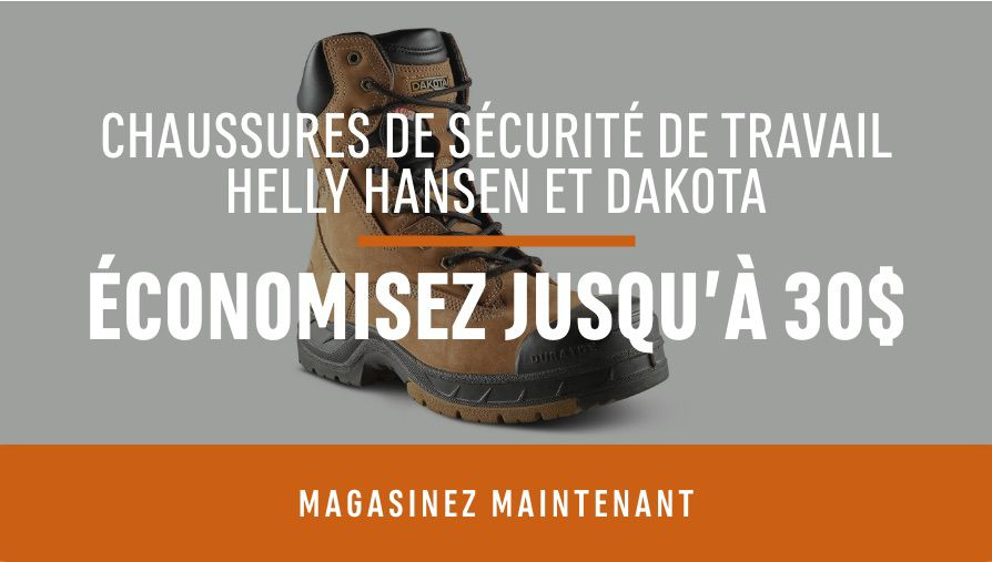 Dakota + Helly Hansen Safety Footwear: Save Up To $30