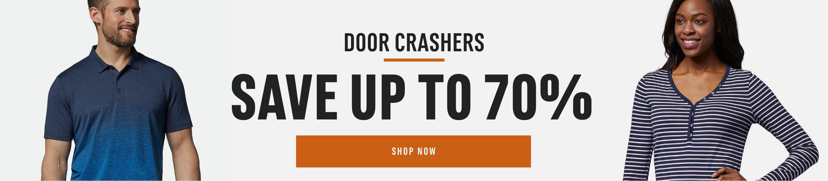 Door Crashers: Save Up to 70%