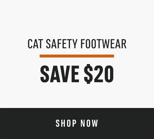 CAT Safety Footwear: Save $20