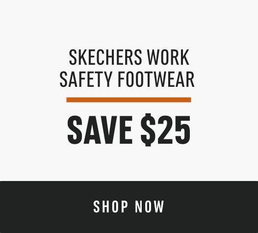 Skechers Work Safety Footwear: Save $25