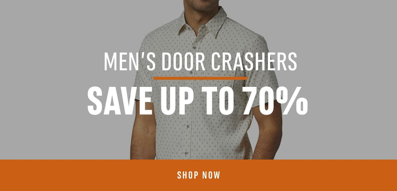 Men's Doorcrashers: Save up to 70%