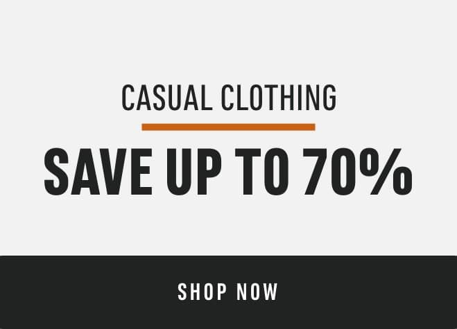 Casual Clothing: Save Up to 70%