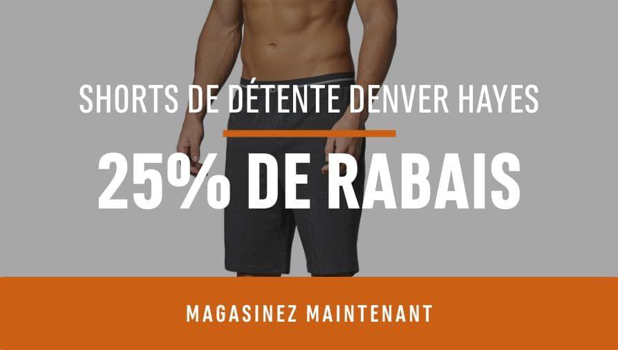 Denver Hayes Lounge Shorts: Save 25%