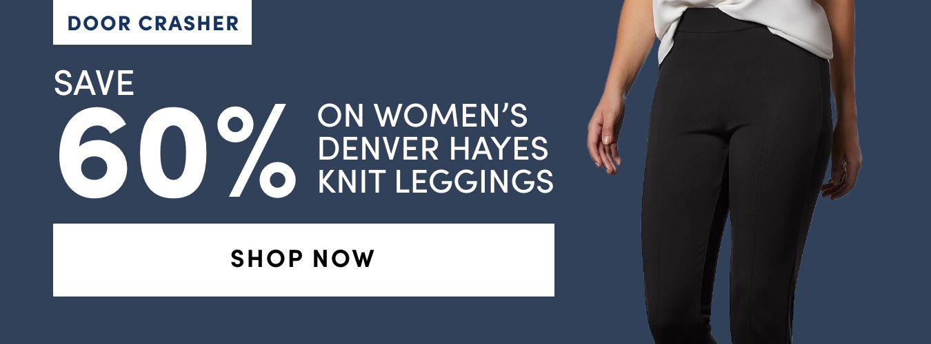 DOOR CRASHER Women's Denver Hayes Knit Leggings: Save 60%