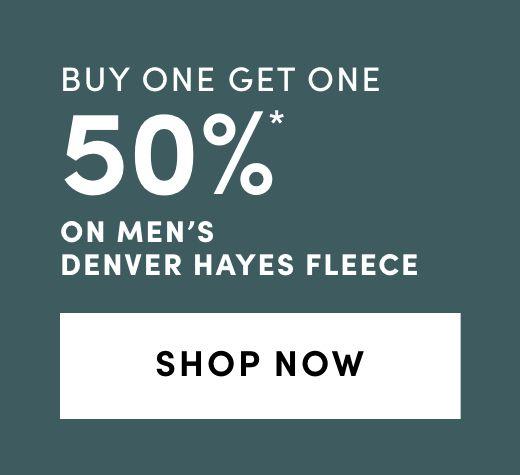 Men's Denver Hayes Fleece: BOGO 50%