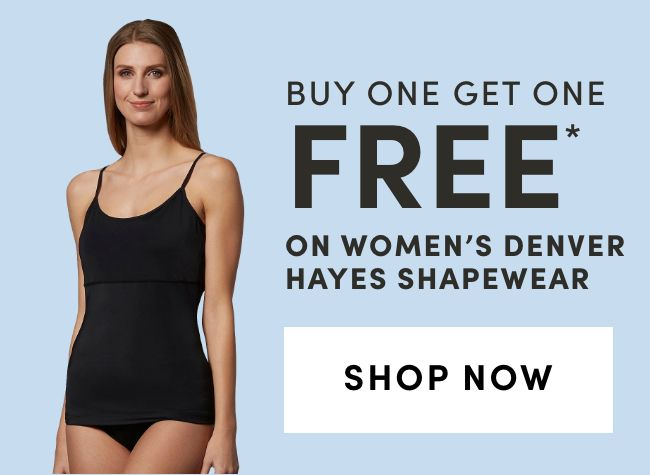 Women's Denver Hayes Shapewear: BOGO FREE*