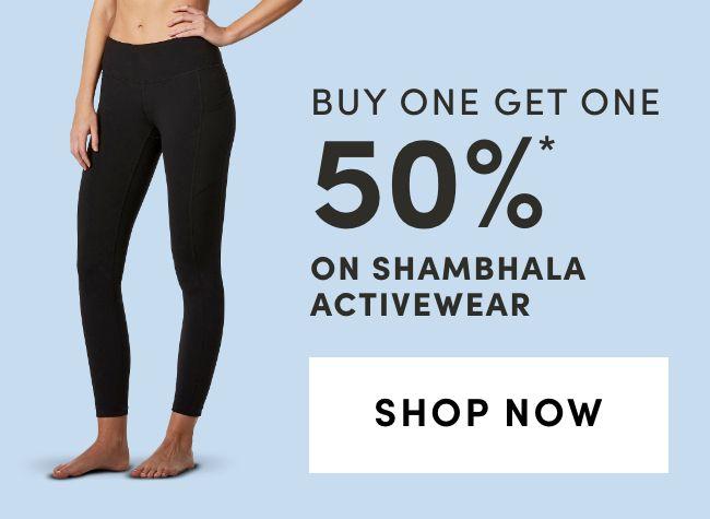 Shambhala Activewear: BOGO 50%
