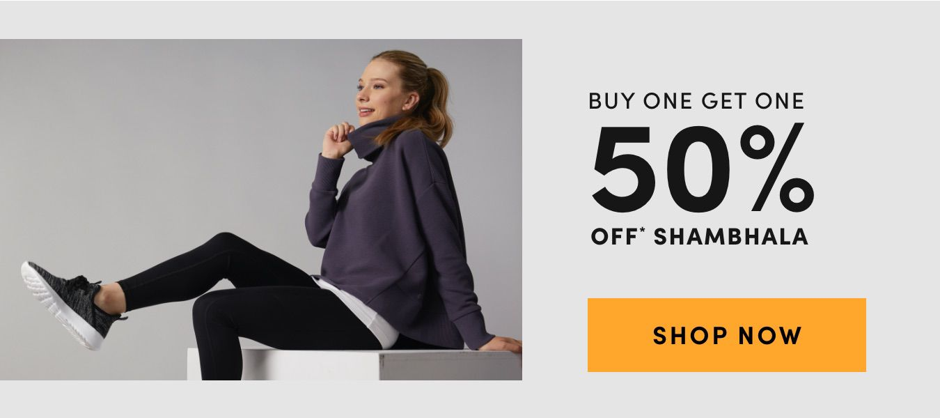 Buy One Get One 50% Off Shambhala. Shop Now