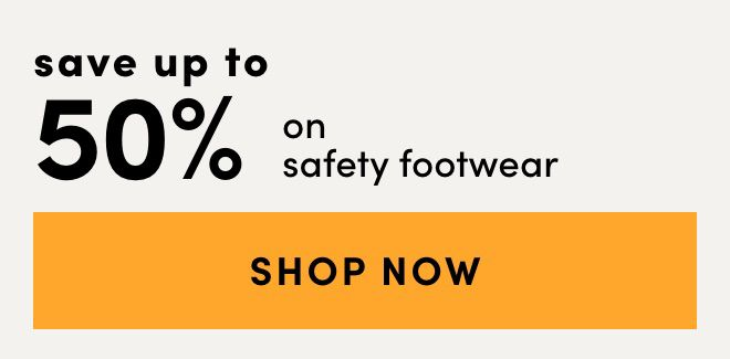 Safety Footwear - Save up to 50%